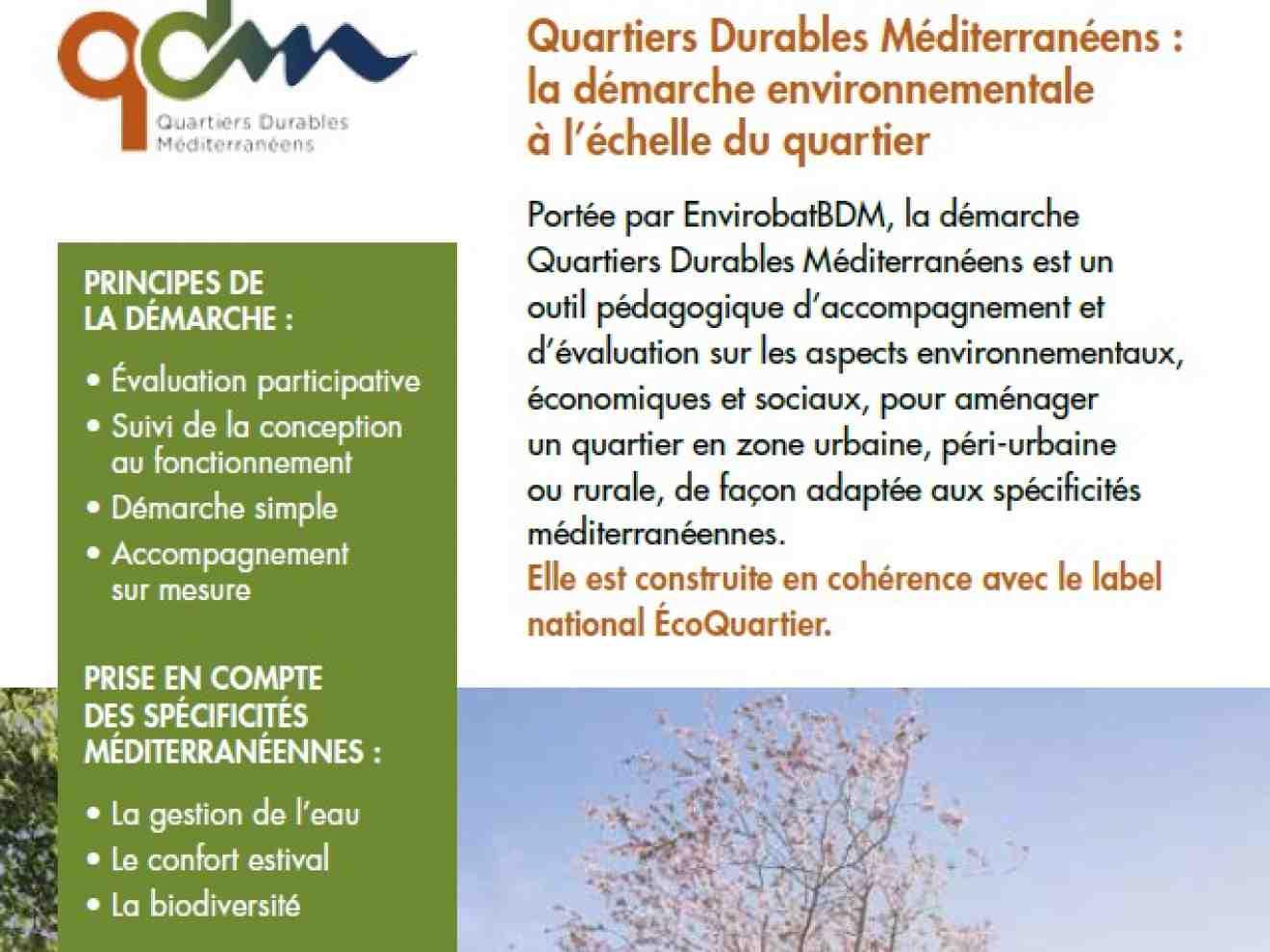 Quartiers durables méditerranéens
