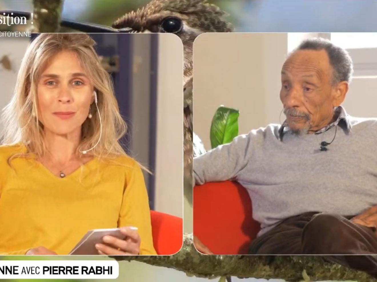 Le Web Sonne avec Pierre Rabhi