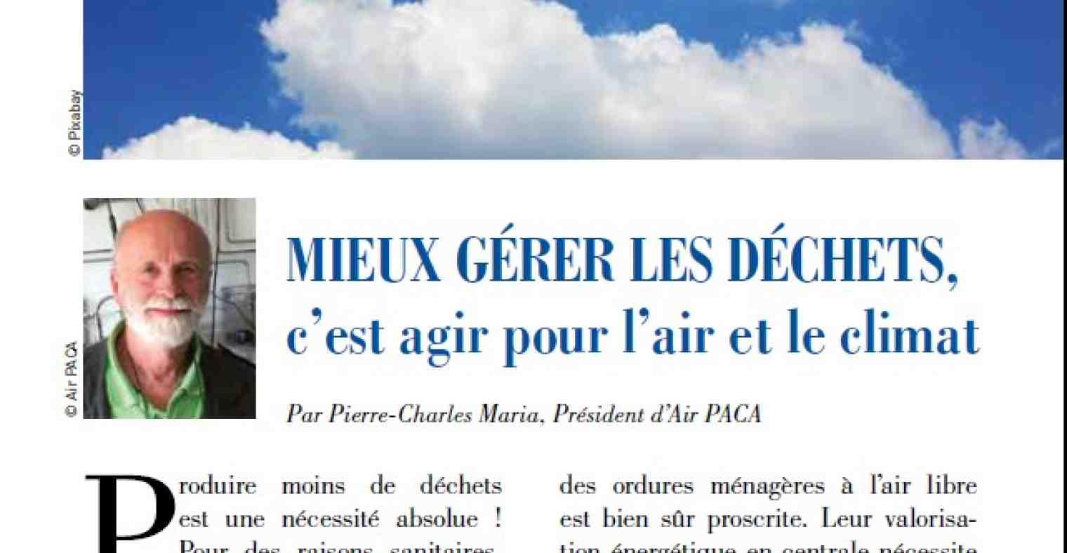 Climat et qualité de l'air en Paca : même combat !